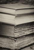 Ustawienie retro i efekt starodawny sztuka książki — Zdjęcie stockowe