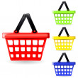 Shopping basket - Stock Vector