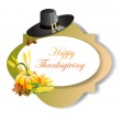 Thanksgiving day banner — Stock Vector