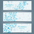Floral banners — Stock Vector #22438327