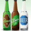 Beer bottle with label — Stock vektor #33683363