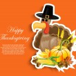 Happy Thanksgiving Day — Stock Vector