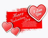 Valentines day background — Vetorial Stock