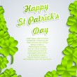 Stock Vector: St.Patrick's Day background