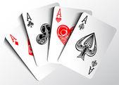 Cartas de poker — Vetorial Stock