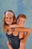 Happy children portrait — Stock Photo