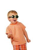 Little boy happy portrait — Stock Photo