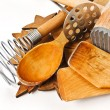 Stock Photo: Wooden kitchen utensil