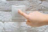 Switch off light — Stock Photo