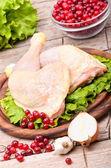 Cosce di pollo — Foto Stock