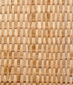 Closeup of Wicker texture — Stock Photo