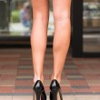 Long legs and high heeled shoes — Stock Photo #28363833