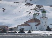 Landmark in Dutch Harbor Alaska — Stock Photo