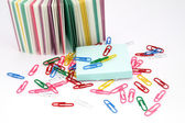 Still-life, Office, Paper, Paper clip. — Stock Photo