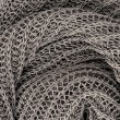 Close up grey knitted pullover background — Stock Photo #12004645