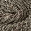 Close up grey knitted pullover background — 图库照片