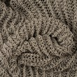 Close up grey knitted pullover background — Stock Photo #12004658