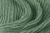 Close up grey knitted pullover background — Stock Photo