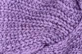 紫ニット プルオーバー背景を閉じる — ストック写真