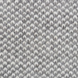 Close up gray knitted pullover background — Stock Photo