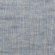 Blue linen close up texture background — Stock Photo
