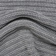 Close up grey knitted pullover background — Stock fotografie #17201901