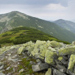 Mountain scenery in Carpathians — Stock Photo