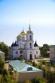 Russian church. Uspensky cathedral in Dmitrov — Stockfoto
