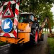 Road work in progress — Stock Photo