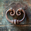 Old door-knocker — Stock Photo