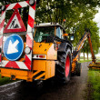 Stock Photo: Road work in progress