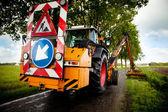 Carretera trabajo en progreso — Foto de Stock