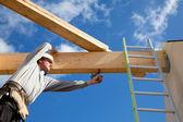 аутентичные строительный рабочий — Стоковое фото