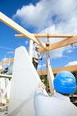 Byggnadsarbetare — Stockfoto