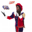 Zwarte piet (black pete) — Stock Photo #21722919