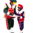 Zwarte piet (black pete) — Stock Photo