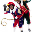 Zwarte piet (black pete) — Stock Photo #21722955