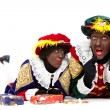Zwarte piet (black pete) — Stock Photo #21723045