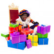 Zwarte piet sinterklaas (black pete) — Stock Photo #32595231