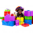 Zwarte piet sinterklaas (black pete) — Stock Photo #32748823