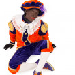 Zwarte piet sinterklaas (black pete) — Stock Photo #32890115
