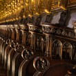 Stock Photo: Church Pews