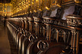 Church Pews — Stock Photo