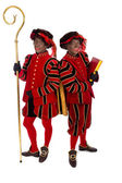 Two zwarte pieten (black pete) — Stock Photo