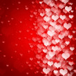 Stock Photo: Abstract background to the Valentine