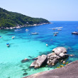Similan islands, Thailand, Phuket. — Stock Photo