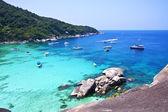 Phuket thailandia, isole similan. — Foto Stock