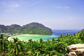 Beautiful tropical landscape. Phi-phi island, Thailand. — Стоковое фото