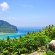 View from the highest point of Phi-Phi island in Thailand — Lizenzfreies Foto