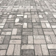 Stone street road pavement texture — Foto Stock